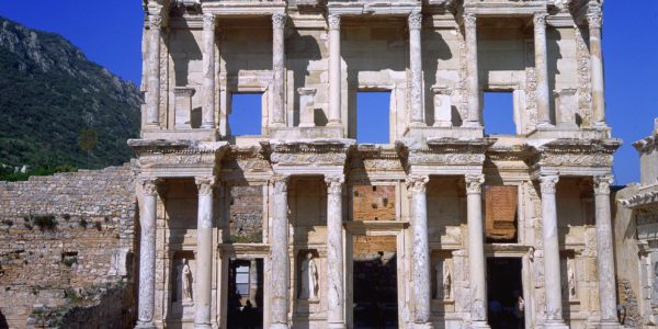 ephesus celcus anciet city turkey package tour holiday vacation journey