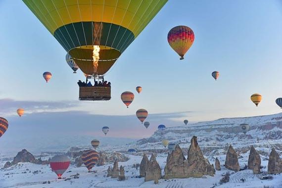 hot air balloon flight cappadocia turkey istanbul vacation